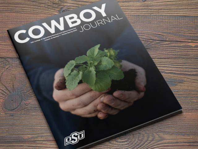 A photo of the latest issue of Cowboy Journal